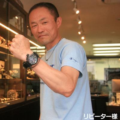 2013年5月 MTMスペシャルオプス ハイパーテックMTM-0129GWB ブラック腕時計をお買い上げいただきました石川 公明様