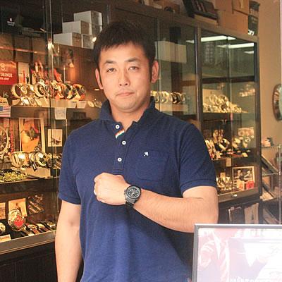 2013年5月 MTMスペシャルオプス/ファルコン/ブラックオンブラック/MTM-TI099BB 腕時計をお買い上げいただきました高芝 直人様