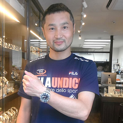 ケンテックス腕時計をお買上げいただきました谷脇様