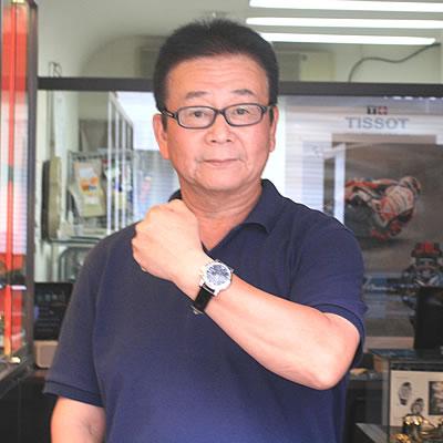 014年7月 ティソ(TISSOT)T-クラシック 自動巻き T068.427.16.051.00腕時計をお買い上げいただきました山本真二様