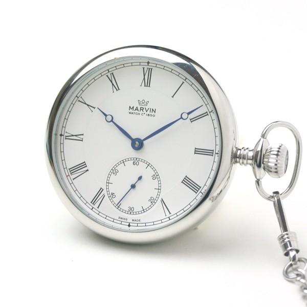 正美堂 マーヴィン オリジナル懐中時計 自由な時間を楽しむにふさわしい大人の懐中時計