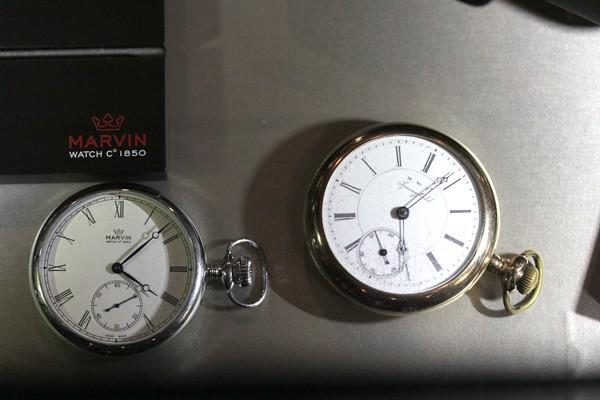 マーヴィン 1880年代オリジナル懐中時計
