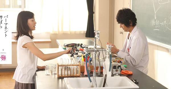 映画パーマネント野ばらにて江口洋介さんにオリス時計を着用していただいております。