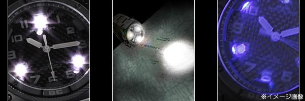 MTMファルコン5段階の照明モードサイクルの説明