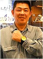 ボストークヨーロッパ時計をお買上げいただきました山中様