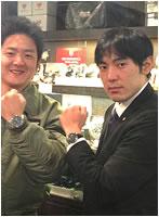 ユンカース腕時計お買上げいただきました濱田様