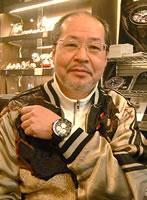 ボストーク・ヨーロッパ腕時計をお買上げいただきました小松様