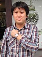フレデリック・コンスタント腕時計をお買上げいただきました徳弘様