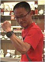 MTM腕時計をお買上げいただきました石川様