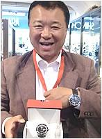 ティソ腕時計をお買上げいただきました小松様