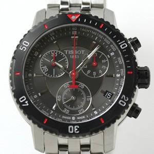 TISSOT ティソ PRS200 ダイバーズウォッチ 腕時計 クロノグラフ タキメーター
