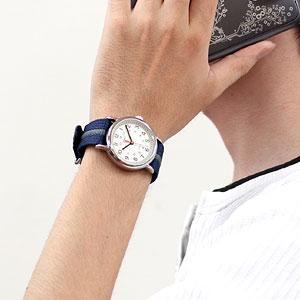 TIMEX タイメックス 腕時計 スタイリッシュ ウィークエンダー 男性着用イメージ