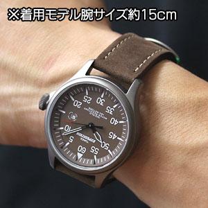 TIMEX タイメックス 腕時計 スタイリッシュ エクスペディション ミリタリーフィールド 男性着用イメージ