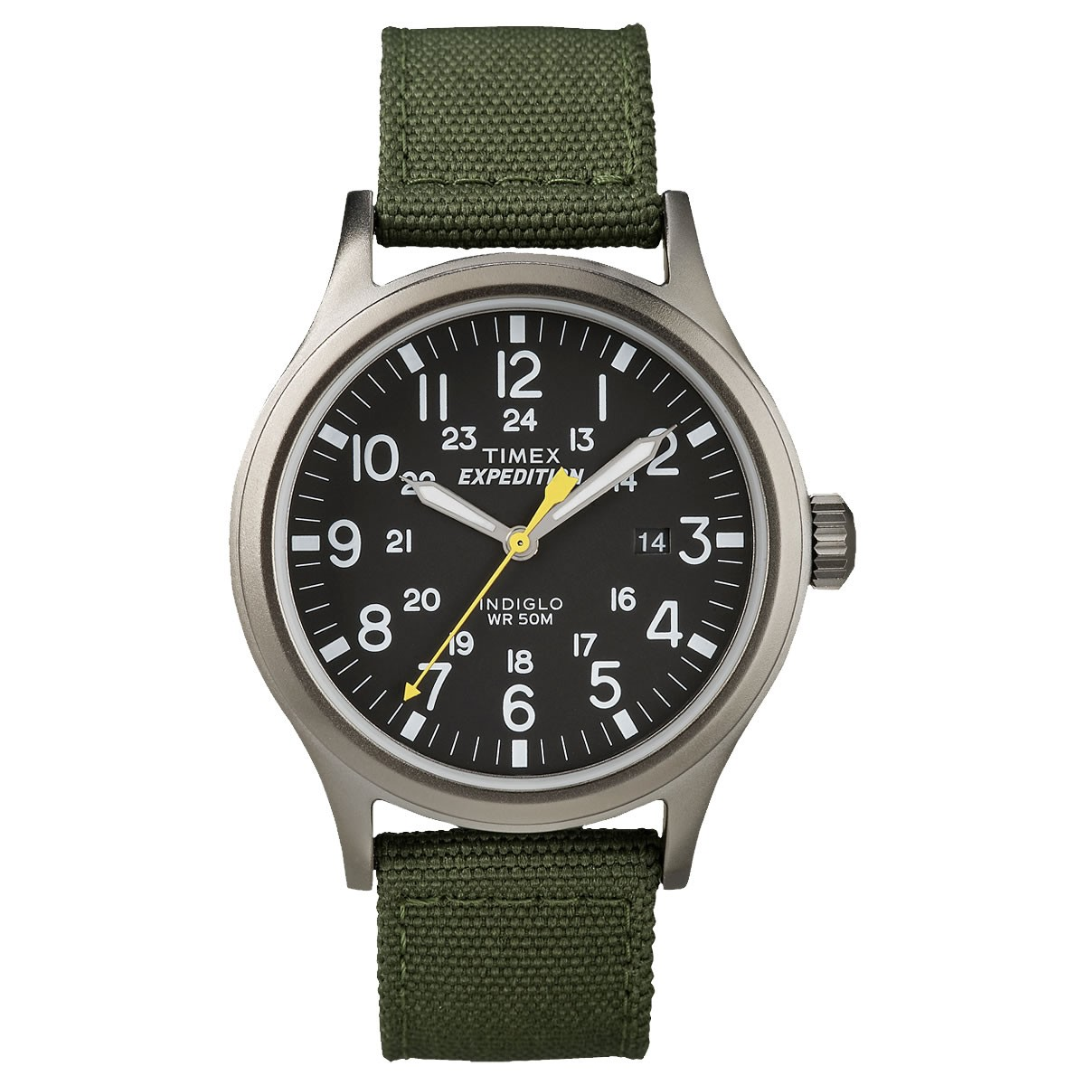 TIMEX Expedition  SCOUT ブラック×カーキ 40mm T49961