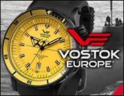 ロシアブランドの腕時計ボストークヨーロッパ