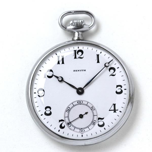 1920〜30年代に日本へ輸入されたゼニスの懐中時計