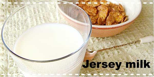 限定酪農家より搾乳したジャージー牛乳