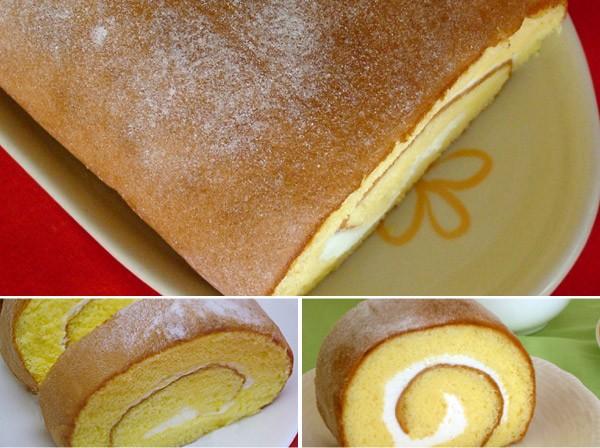 甘さ控えめ生ロールケーキ