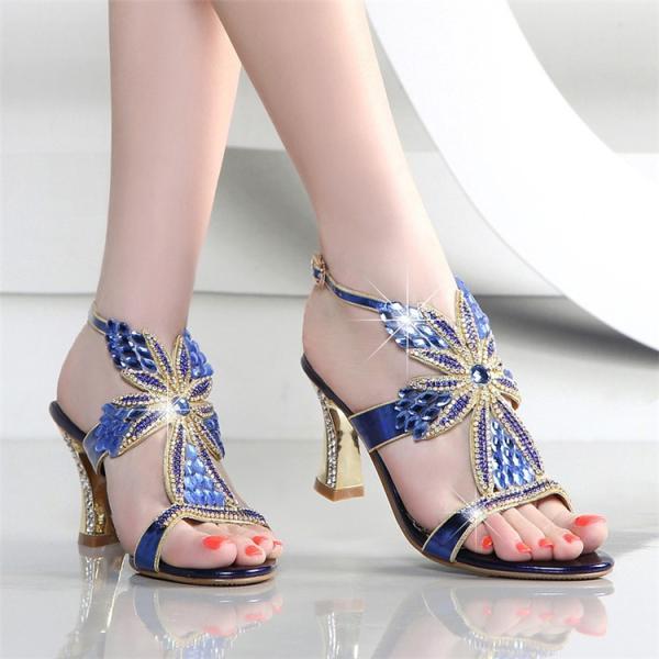 サンダル レディース 夏 ウェッジソール 美足 キラキラ ダイヤモンド 靴 シューズ 痛くない 大人可愛い 結婚式 二次会お呼ばれ 大きいサイズ 3色