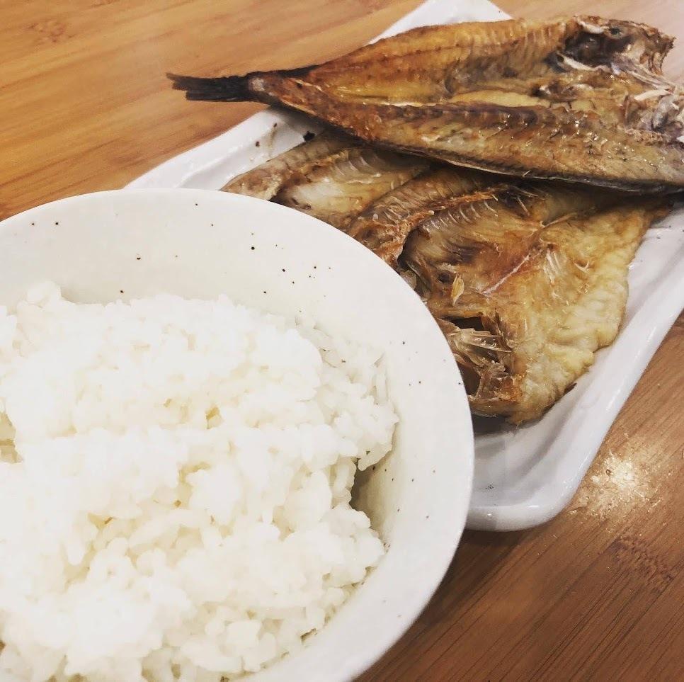干物と相性の良い白米
