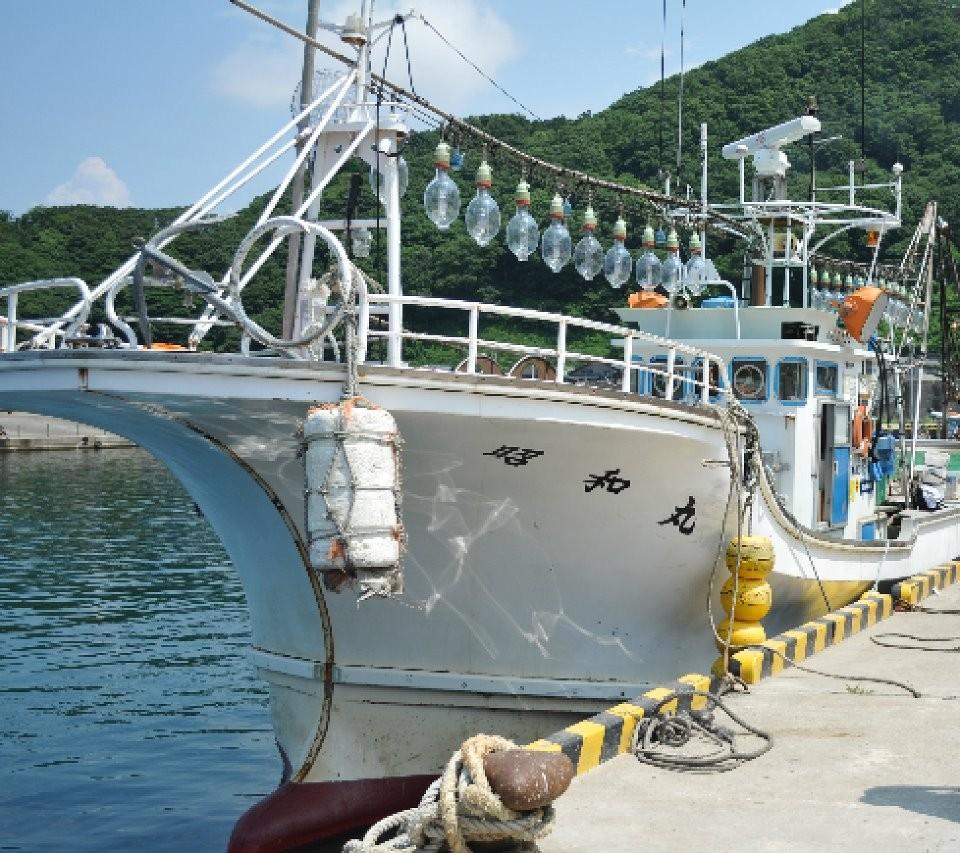 漁師直送昭和丸 ロゴ