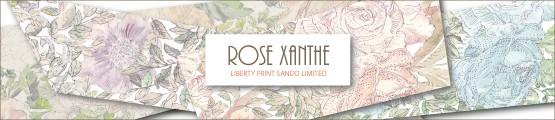 リバティプリント 『Rose Xanthe』サンドウ限定生産色