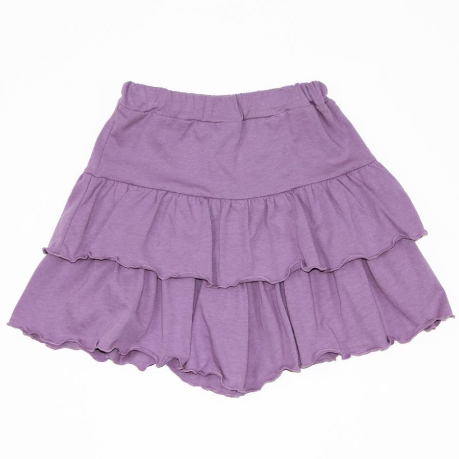 子供服 パンツ キッズ ベビー 女の子 フリルパンツ キュロット ボトムス ショートパンツ キャザー 無地 T2 ティーツー t-2-fashion 20