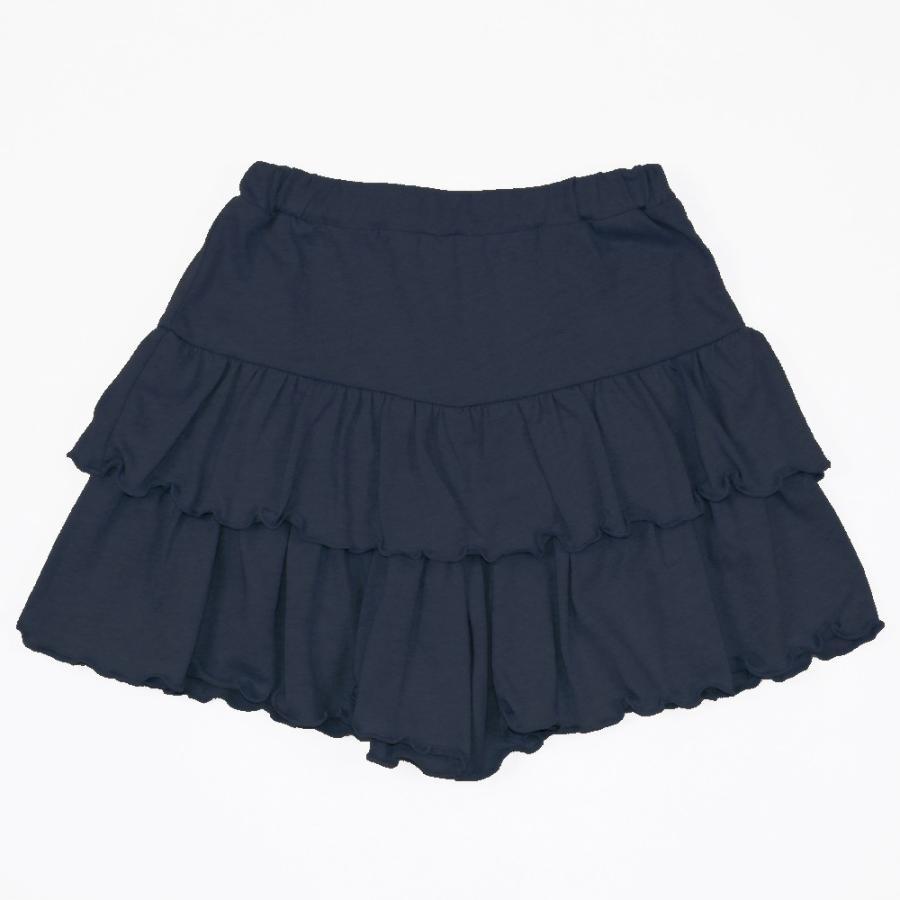 子供服 パンツ キッズ ベビー 女の子 フリルパンツ キュロット ボトムス ショートパンツ キャザー 無地 T2 ティーツー t-2-fashion 21