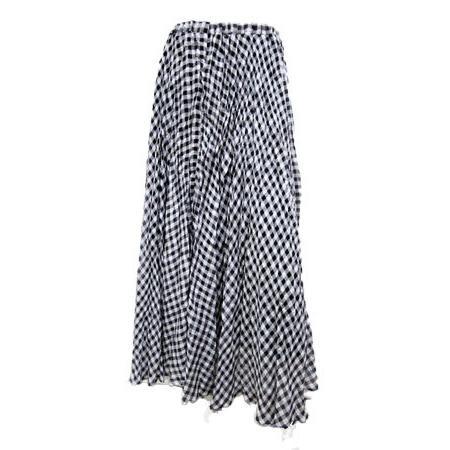 C'EST MOIJEU セモアージュ / チェックランダムプリーツスカート |t-blueberry|09