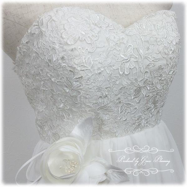 ウエディングドレス ウェディングドレス 白 人気のエンパイアライン 結婚式 二次会 花嫁ドレス 海外挙式 妊婦さんにオススメ Wedding 8865wd|t-bright|17