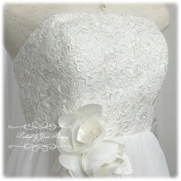 ウエディングドレス ウェディングドレス 白 人気のエンパイアライン 結婚式 二次会 花嫁ドレス 海外挙式 妊婦さんにオススメ Wedding 8865wd|t-bright|18