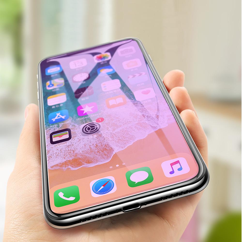 iphoneX ガラスフィルム