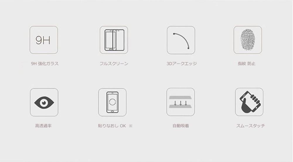 iPhone ガラス フィルム