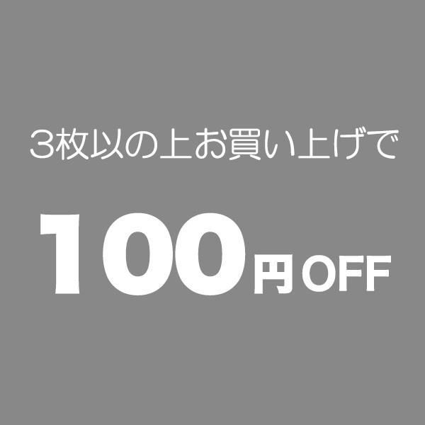 3枚以上のお買い物で100円OFF