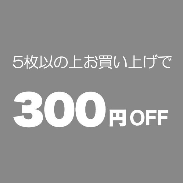 5枚以上のお買い物で300円OFF