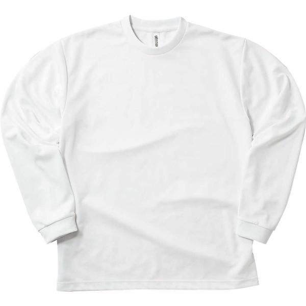 速乾 Tシャツ 長袖 メンズ レディース ロンt 無地 ドライ グリマー(glimmer) 4.4オンス|t-shrtjp|05