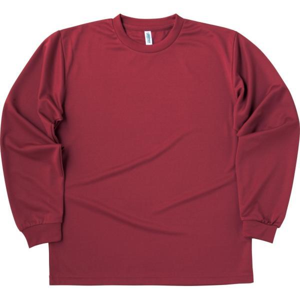 速乾 Tシャツ 長袖 メンズ レディース ロンt 無地 ドライ グリマー(glimmer) 4.4オンス|t-shrtjp|12