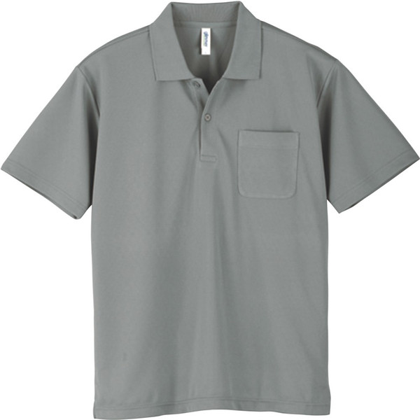ポロシャツ メンズ 半袖 レディース 無地 ドライ 吸汗 速乾 グリマー(glimmer) ポケット付き 4.4オンス 330avp|t-shrtjp|09