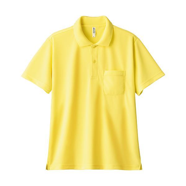 ポロシャツ メンズ 半袖 レディース 無地 ドライ 吸汗 速乾 グリマー(glimmer) ポケット付き 4.4オンス 330avp|t-shrtjp|15