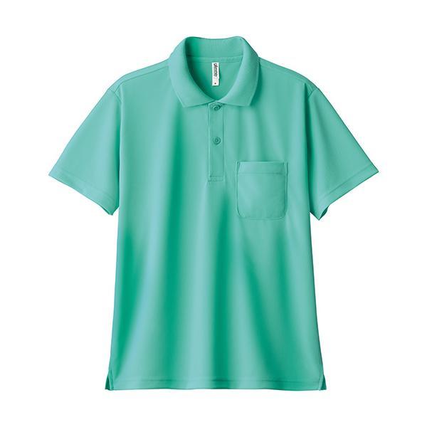 ポロシャツ メンズ 半袖 レディース 無地 ドライ 吸汗 速乾 グリマー(glimmer) ポケット付き 4.4オンス 330avp|t-shrtjp|18