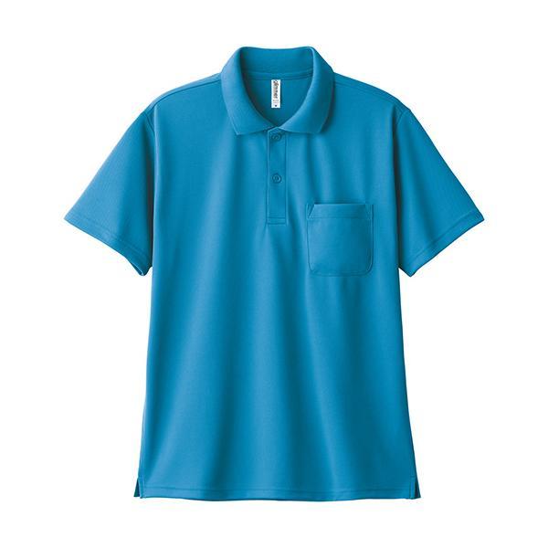 ポロシャツ メンズ 半袖 レディース 無地 ドライ 吸汗 速乾 グリマー(glimmer) ポケット付き 4.4オンス 330avp|t-shrtjp|22