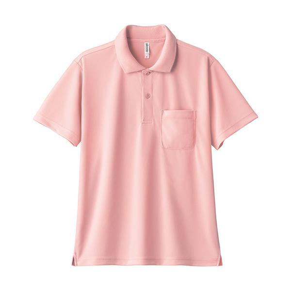 ポロシャツ メンズ 半袖 レディース 無地 ドライ 吸汗 速乾 グリマー(glimmer) ポケット付き 4.4オンス 330avp|t-shrtjp|27