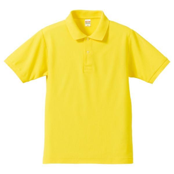 ポロシャツ メンズ 半袖 レディース 無地 ドライ 吸汗 速乾 ユナイテッドアスレ(United Athle) 5.3オンス 505001|t-shrtjp|11
