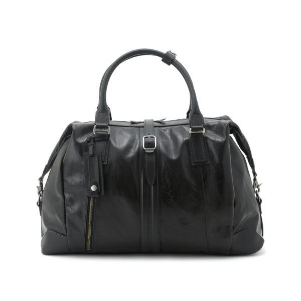 豊岡鞄 レザーボストンバッグ メンズ 日本製 本革 Ambition BK15-106 t-style 12