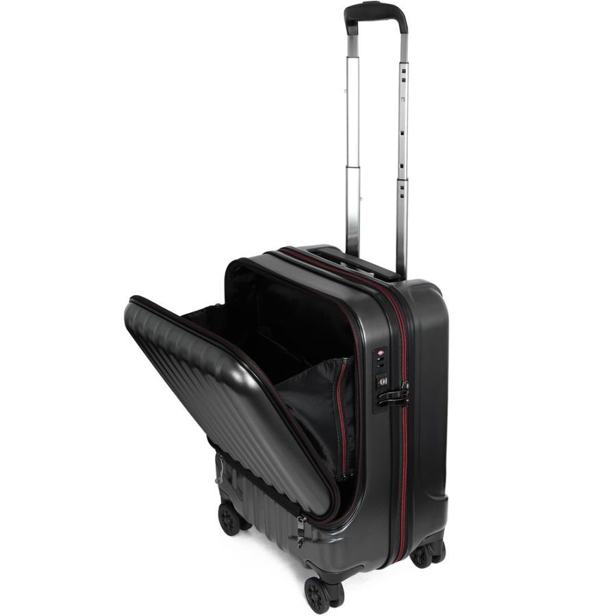 スーツケース キャリーケース 機内持ち込み Sサイズ フロントオープン 小型 軽量 ビジネスキャリー キャリーバッグ TSA フロントポケット 人気 おすすめ 出張 tabi 26