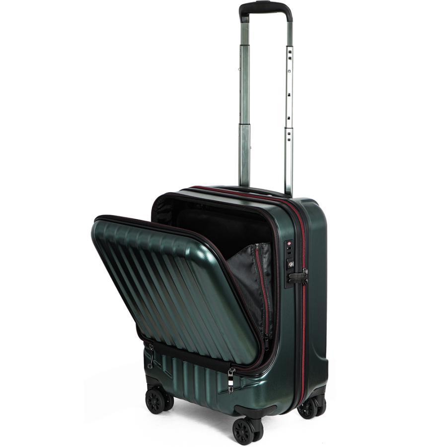 スーツケース キャリーケース 機内持ち込み Sサイズ フロントオープン 小型 軽量 ビジネスキャリー キャリーバッグ TSA フロントポケット 人気 おすすめ 出張 tabi 28