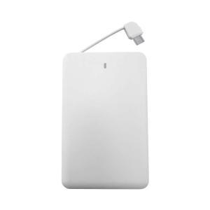 モバイルバッテリー 軽量66g 薄型6.6mm 超小型のコンパクト設計 2500mAh iPhone/Andorid対応|tabtab|22