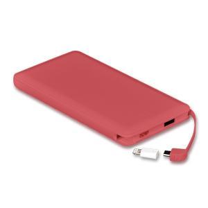 モバイルバッテリー 新型モデル 大容量 iPhone アンドロイド対応 軽量 薄型 10000mAh コード付き2台同時充電可能 送料無料 2A急速充電 セール tabtab 20
