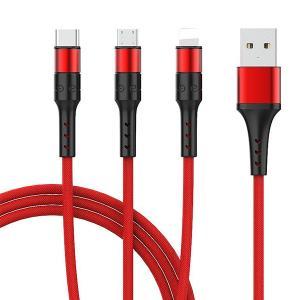 激安 3in1充電ケーブル iPhone Type-C MicroUSB 急速充電 モバイルバッテリー【送料無料】|tabtab|13