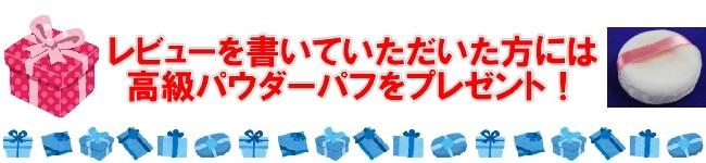 レビューを書いてプレゼントをゲット!